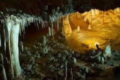 Caverna dello Stalactite Fotografia Stock