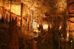 Caverna dello Stalactite. Fotografia Stock Libera da Diritti