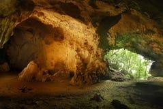 Caverna di Aglipay Fotografia Stock
