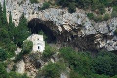 Caverna di Atrani di Masaniello Fotografia Stock