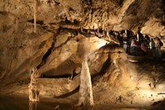 Caverna di Belianska (Slovacchia) Fotografie Stock Libere da Diritti