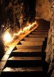 Caverna di Belianska, Slovacchia fotografia stock libera da diritti
