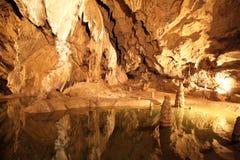 Caverna di Belianska, Slovacchia immagini stock libere da diritti