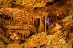 Caverna di colore Immagini Stock