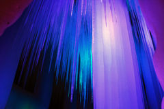 Caverna di ghiaccio di diecimila Fotografie Stock Libere da Diritti