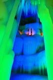 Caverna di ghiaccio di diecimila Immagine Stock