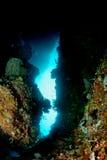 Caverna di Hukurila Immagini Stock
