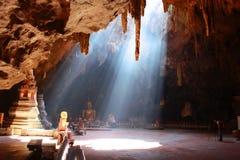 Caverna di Khao Luang, Phetchaburi Tailandia Immagini Stock