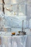 Caverna di marmo Immagini Stock