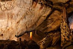 Caverna di marmo fotografia stock
