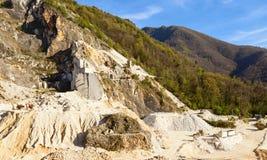 Caverna di marmo Fotografie Stock Libere da Diritti