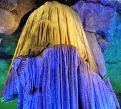 Caverna di morfologia carsica Fotografia Stock