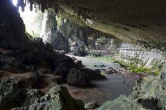 Caverna di Niah fotografia stock