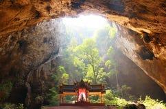 Caverna di Phraya Nakhon, Khao, Sam Roi Yod National Park, Prachuap Khiri Khan Thailand Fotografie Stock