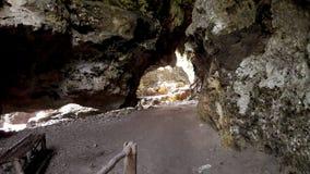 Caverna di Stalagtit Immagini Stock Libere da Diritti