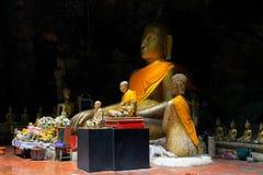 Caverna di Tham Khao Luang, provincia di Phetchaburi, Tailandia immagine stock