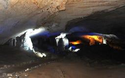 Caverna di Tham Kong Lo Immagini Stock