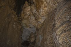 Caverna di Uhlovitsa Immagine Stock Libera da Diritti