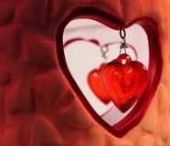 Caverna do amor imagens de stock royalty free