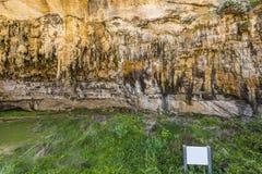 Caverna do desfiladeiro do ard do Loch na grande estrada do oceano, Victoria, Austrália fotografia de stock royalty free