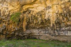 Caverna do desfiladeiro do ard do Loch na grande estrada do oceano, Victoria, Austrália imagens de stock royalty free