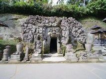 Caverna do elefante, Goa Gajah, em Bali fotos de stock