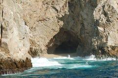 Caverna do Land's End fotografia de stock