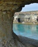 Caverna do mar Foto de Stock Royalty Free