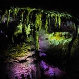 Caverna do PROMETHEUS - caverna do cársico em Geórgia ocidental foto de stock royalty free