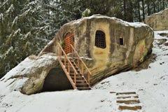 Caverna do ` s de Daniil do século XV imagem de stock royalty free