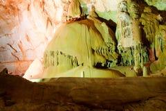 A caverna do salão. Imagens de Stock Royalty Free