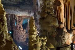 Caverna do Stalactite Foto de Stock Royalty Free