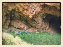 Caverna dos diabos Imagem de Stock Royalty Free