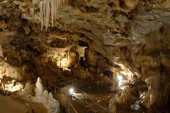 Caverna dos ursos em montanhas de Apuseni Imagem de Stock Royalty Free