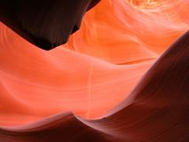 Caverna dourada Imagem de Stock