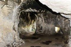 Caverna em Bulgária imagens de stock royalty free