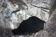 Caverna em Franz Josef Glacier Foto de Stock Royalty Free