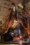 Caverna em Hanoi, Vietname imagem de stock royalty free