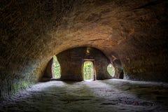 Caverna em HDR Imagens de Stock