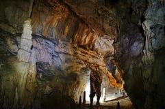 Caverna em Romênia Fotos de Stock Royalty Free