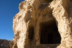 Caverna em ruínas de Guge Imagens de Stock