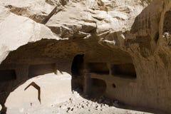 Caverna em ruínas de Guge Foto de Stock Royalty Free