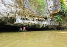 Caverna em Tam Coc Imagens de Stock Royalty Free