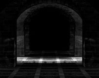 A caverna escura Fotos de Stock
