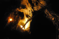 Caverna escura imagem de stock royalty free