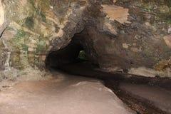 A caverna fugitivo Imagens de Stock