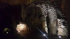 A caverna histórica grega de HERCULES fotos de stock
