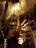 Caverna interna da maravilha foto de stock royalty free