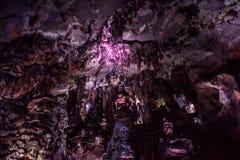 Caverna Ledenika, Bulgaria Immagini Stock