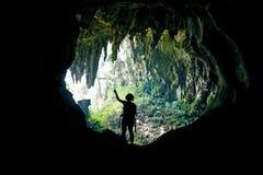 Caverna Malesia del fatato Fotografia Stock